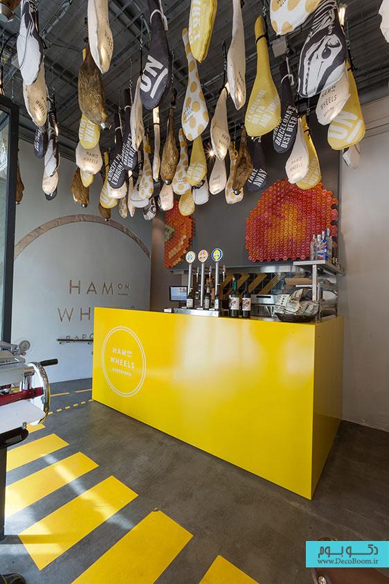 دکوراسیون داخلی رستوران، طراحی داخلی رستوران