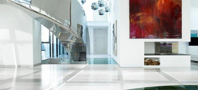 طراحی داخلی پنت هاوس دوبلکس