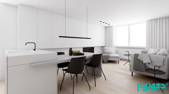 جادوی سیاه و سفید در طراحی داخلی خانه!