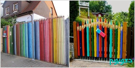 مداد رنگی، تازگیدر دکوراسیون داخلی منزل