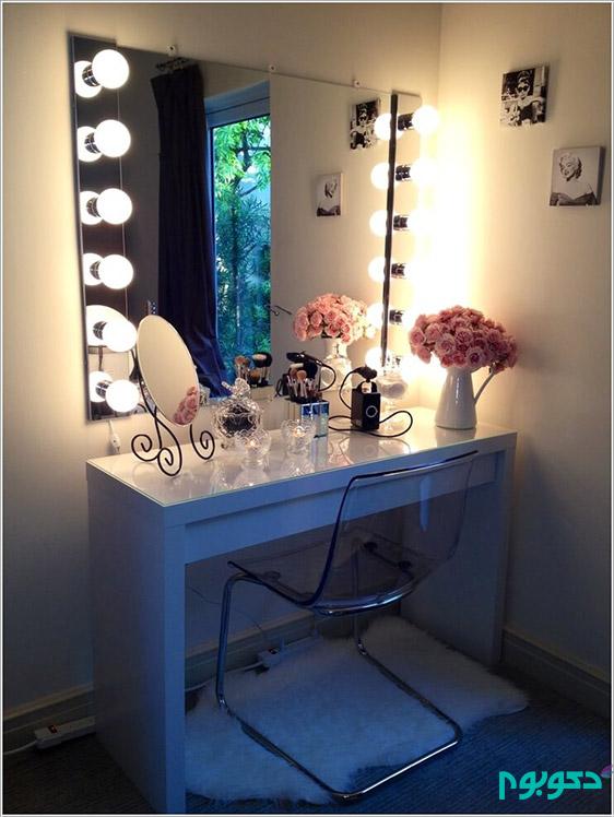 10 ایده مقرون به صرفه برای طراحی میز آرایش