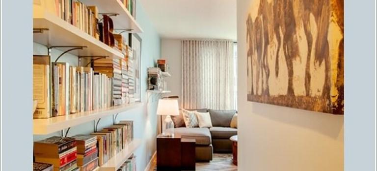 شیوه های نمایش کتاب ها در کتابخانه