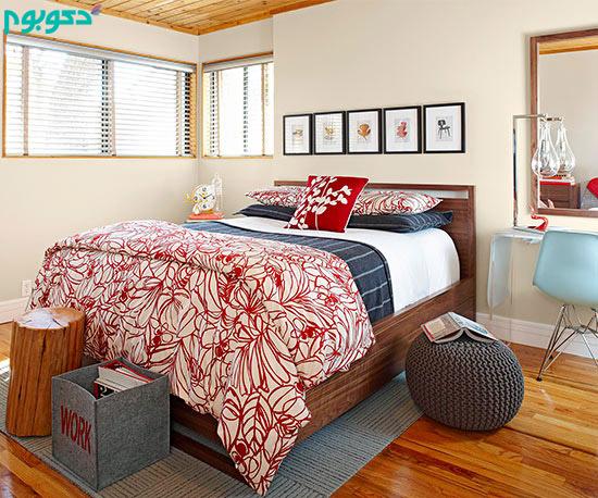 دکوراسیون اتاق خواب روشن،دکوراسیون داخلی اتاق خواب