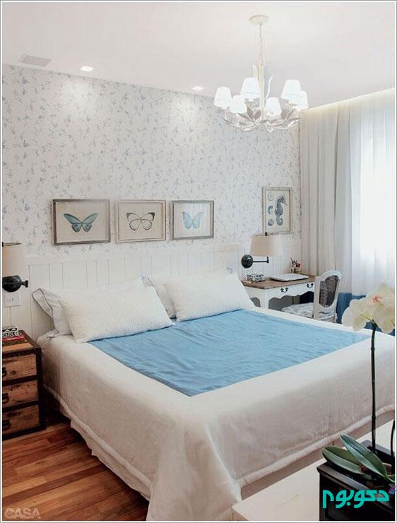 خلاقیت در ساخت دکور دیوار بالای تخت خواب