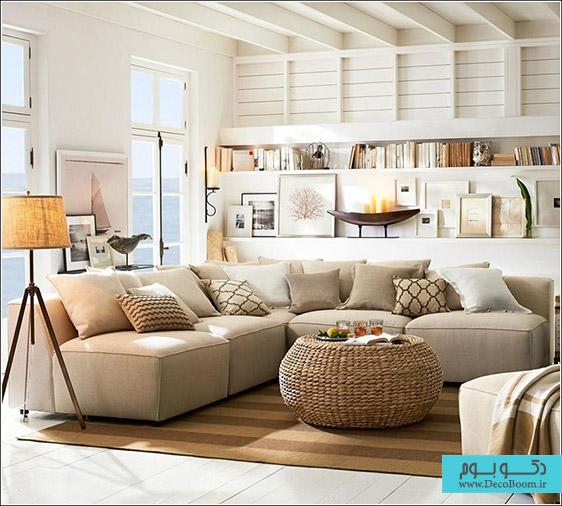 دکوراسیون داخلی منزل به سبک ساحلی