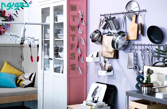 ایده های کم هزینه برای تغییر دکوراسیون آشپزخانه