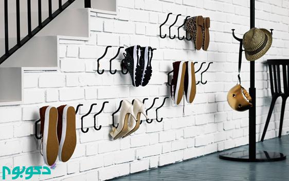 طراحی جا کفشی با کم ترین هزینه