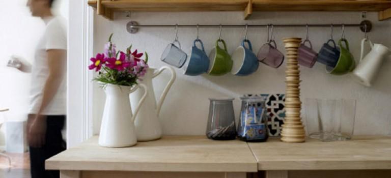 ایده های هوشمندانه در دکوراسیون آشپزخانه های کوچک