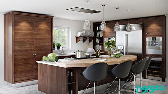 20 نمونه آشپزخانه با سبک کوراسیون داخلی روستیک