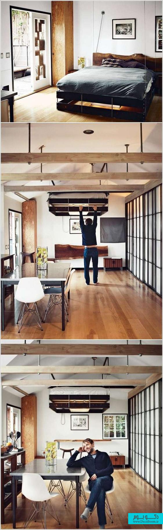 10 پیشنهاد برای دکوراسیون داخلی فضاهای کوچک خانه