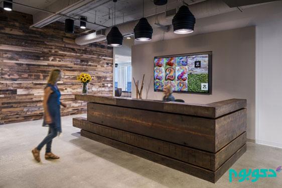 فضای داخلی دفتر کار