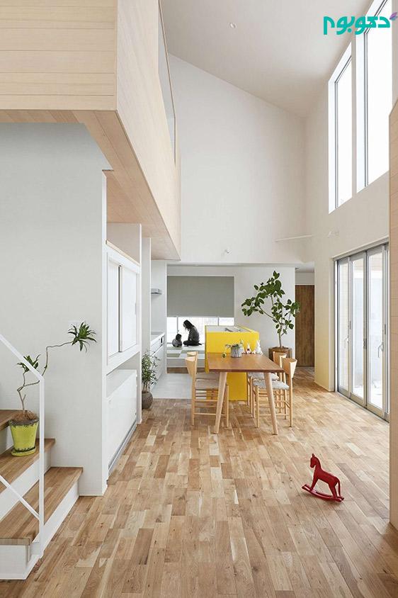 طراحی آپارتمان به سبک مدرن و مینیمال (قسمت دوم)