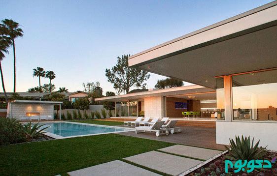 طراحی ویلایی مدرن در کالیفرنیا