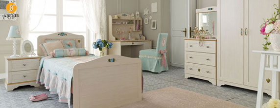 3 preteen girls bedroom 12 700x272 دکوراسیون های داخلی اتاق خواب دخترانه