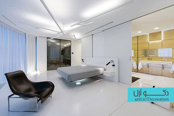 طراحی و دکوراسیون داخلی اتاق خواب مردانه
