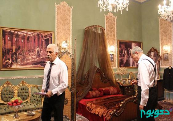 """دکوراسیون خانه بزرگ آقا در سریال """"شهرزاد"""""""