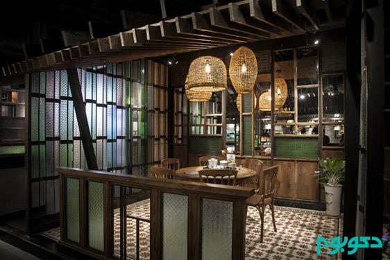 طراحی رستورانی از جنس طبیعت