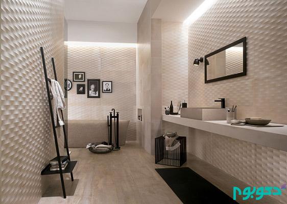 بافت های سه بعدی شگفت انگیز در طراحی دیوار ها