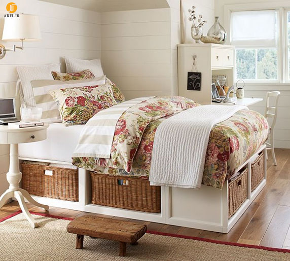 4 teen girls bedroom 48 700x630 دکوراسیون های داخلی اتاق خواب دخترانه