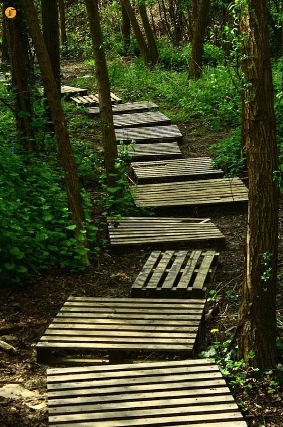 بخش دوم : طراحی مسیر در محوطه سازی باغ