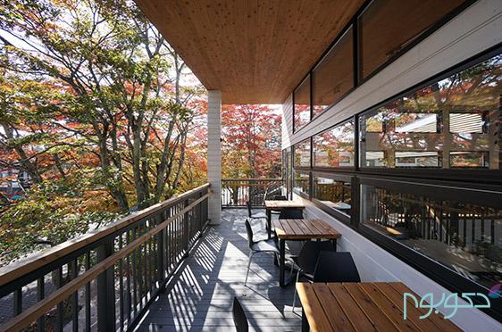 دکوراسیون داخلی کافه رستوران SAWAMURA