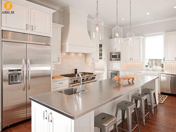 12 نمونه ی کانتر و جزیره برای آشپزخانه مدرن دکوراسیون داخلی دکوبوم