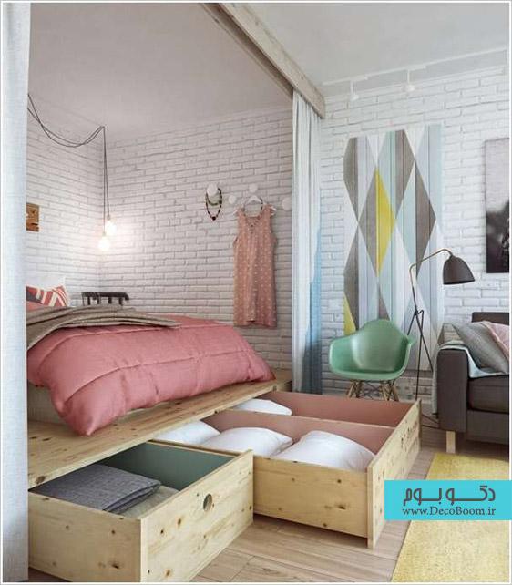 فضای ذخیره سازی در خانه، انبار کوچک در خانه