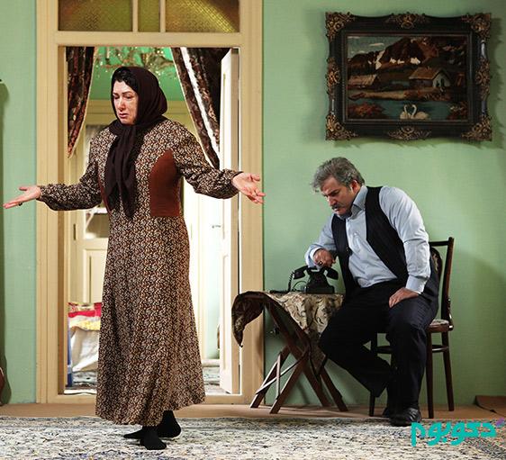 دکوراسیون خانه جمشید و هاشم در سریال شهرزاد!