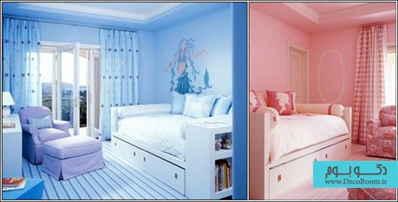 دکوراسیون داخلی اتاق خوابهای کوچک
