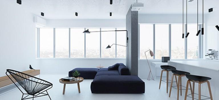 طراحی آپارتمان به سبک مدرن و مینیمال (قسمت اول)