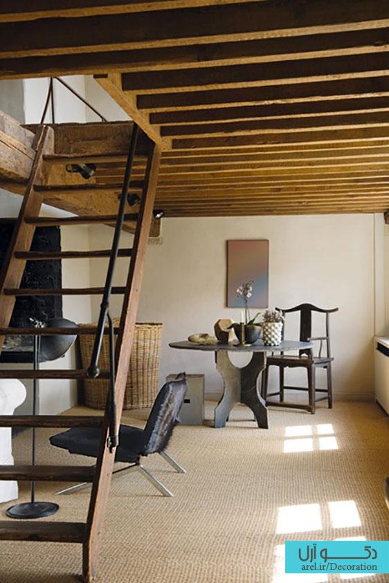 فضای زیر پله در طراخی داخلی