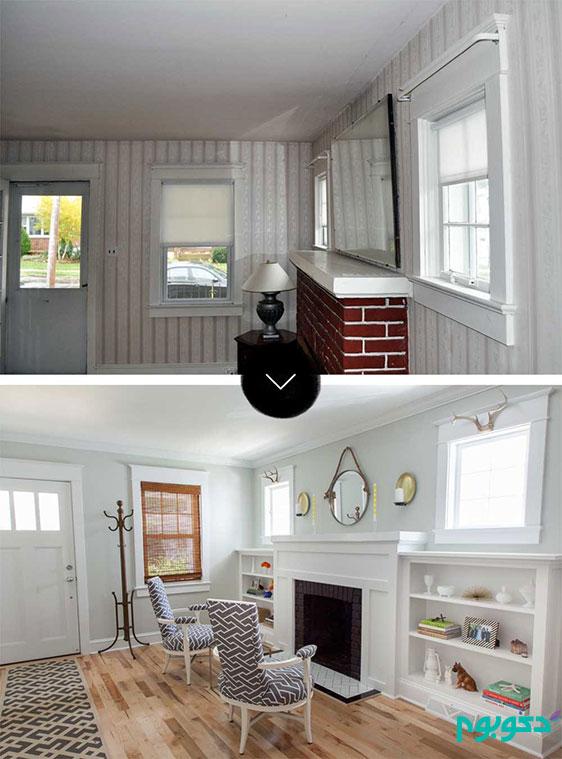 بازسازی خانه برای عید