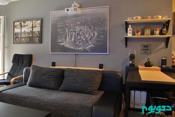 دکوراسیون داخلی خانه ای برای معماران!