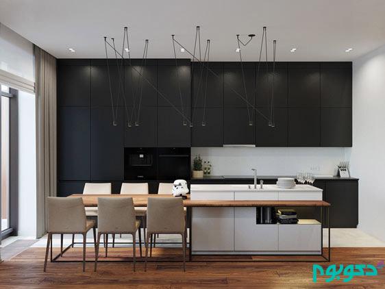 دکوراسیون داخلی آپارتمان به سبک گرم و دنج روستیک