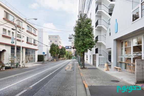 طراحی داخلی کافی شاپ در ژاپن
