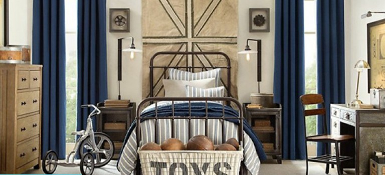 اتاق خواب پسرانه را چگونه طراحی کنیم؟