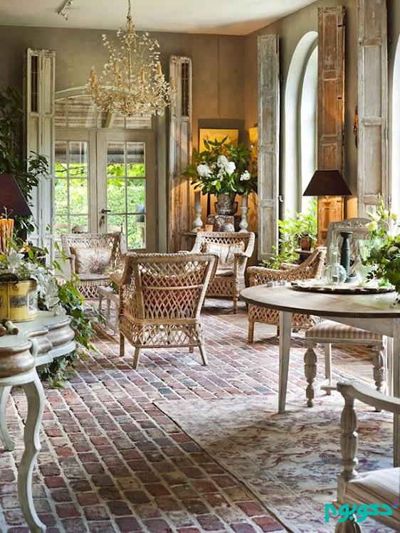 ایده های جذاب فرانسوی برای دکوراسیون داخلی منزل