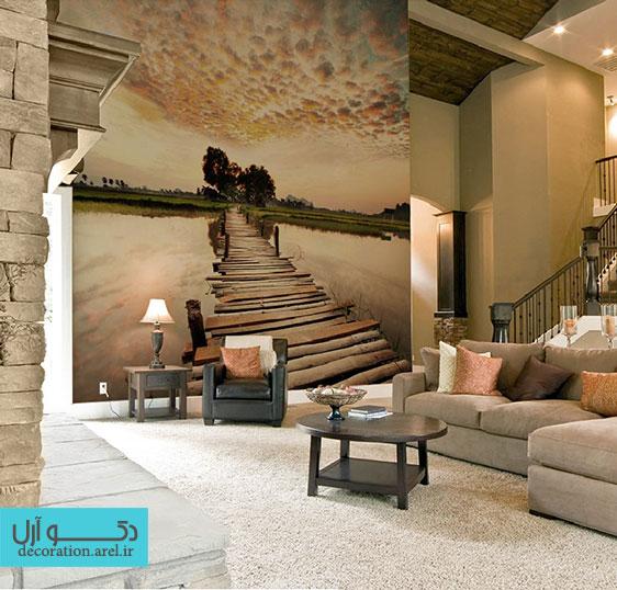 طرح های پاییزی برای کاغذ دیواری منزل