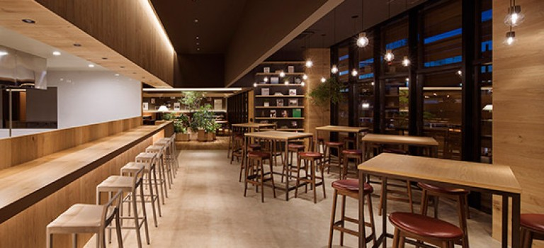 معماری داخلی رستوران Passo Novita