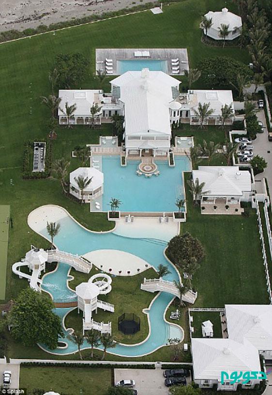 دکوراسیون منزل افراد مشهور: سلین دیون