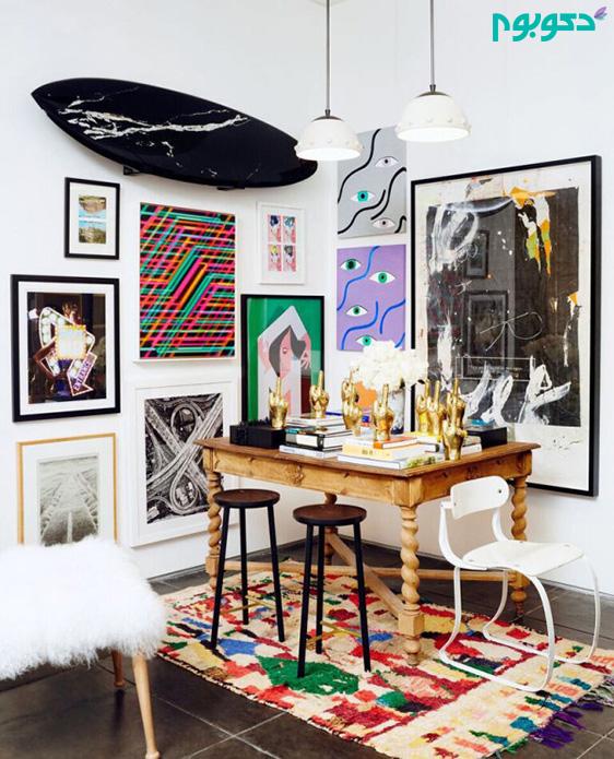 قاب عکس در دکوراسیون داخلی خانه
