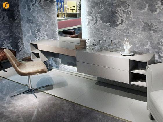 از مدل های جدید میز توالت و آینه در دکوراسیون اتاق خواب خود استفاده کنید