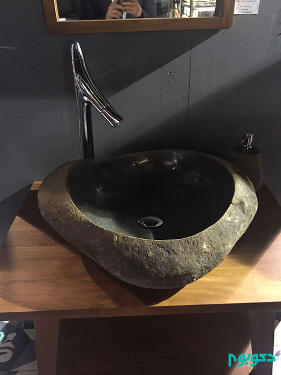 Creative-bathroom-sink-from-stone