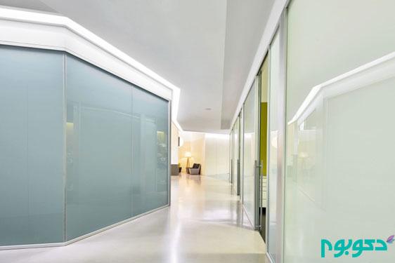 دکوراسیون داخلی مدرن کلینیک دندانپزشکی