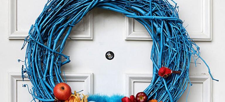 حلقه ی تزیینی درب ورودی و استقبال از بهار