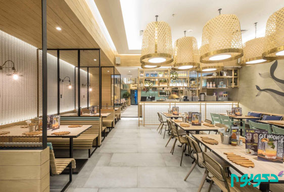 ایده هایی برای طراحی داخلی رستوران (قسمت اول)
