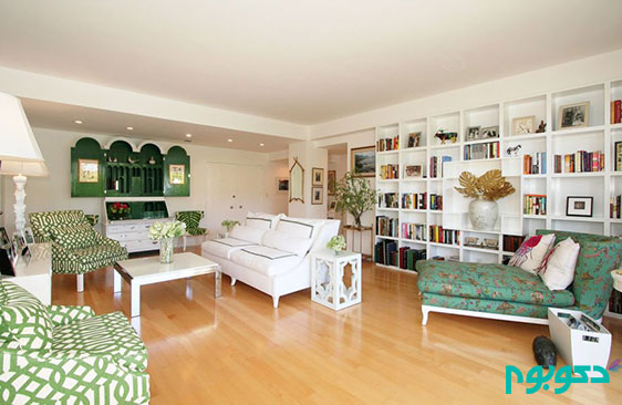 قفسه های تو کار و ایجاد فضای بیشتر در منزل