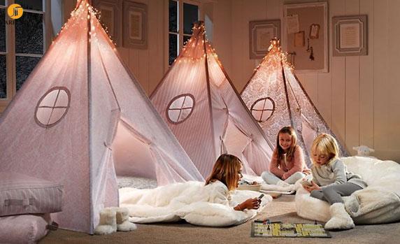 Girls novelty sleepover beds 665x406 دکوراسیون های داخلی اتاق خواب دخترانه