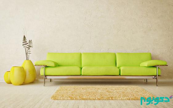 """دکوراسیون داخلی منزل با """"سبز"""" حنایی تا مغز پسته ای"""