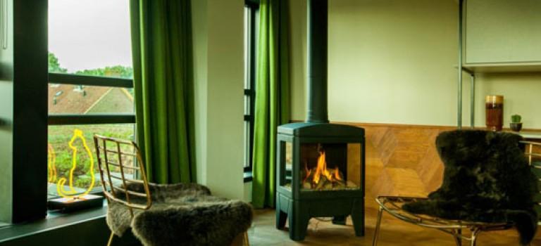 دکوراسیونی سبز در طراحی هتلی در آمستردام